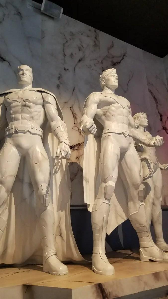 Battle for Metropolis Review, justice league
