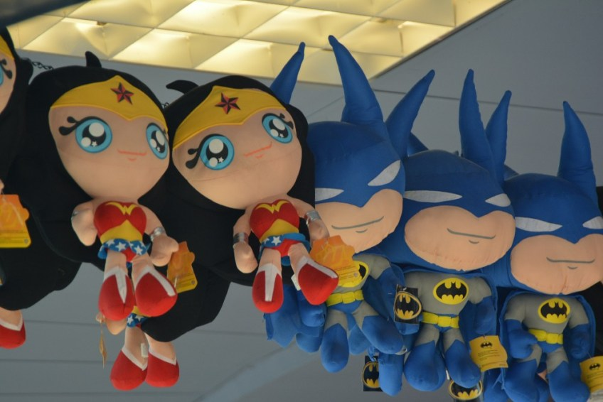 Battle for Metropolis Review, justice league plush