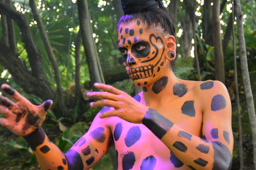 Sacred Mayan Journey Xcaret. Christa Thompson