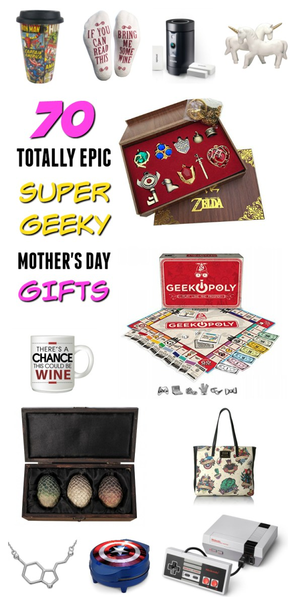 Geeky mother's day ideas