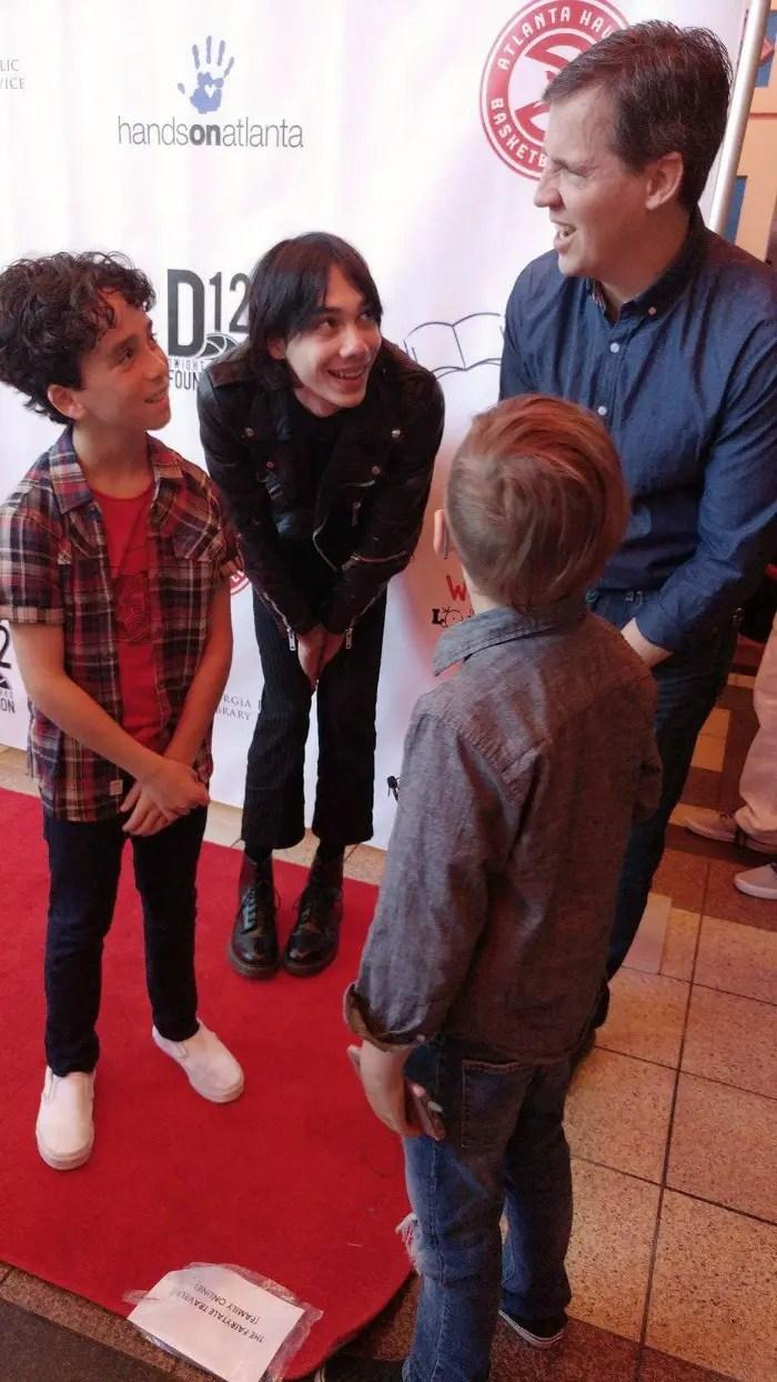 Diary of a Wimpy Kid: The Long Haul Atlanta Premiere Interviews, Jason Drucker, Charlie Wright, Jeff Kinney, Gauge Rybak, Kid Friendly, KidFriendlyTV