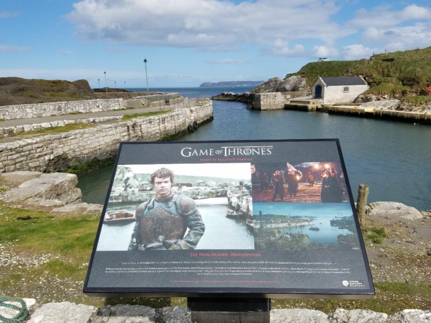 Game of thrones filming locations in northern ireland, iron islands