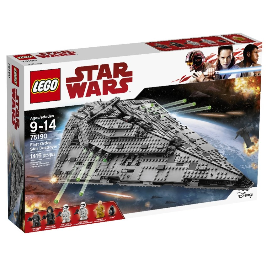 Find the Force, Force Friday II, LEGO Star Wars Episode 8 Kit,