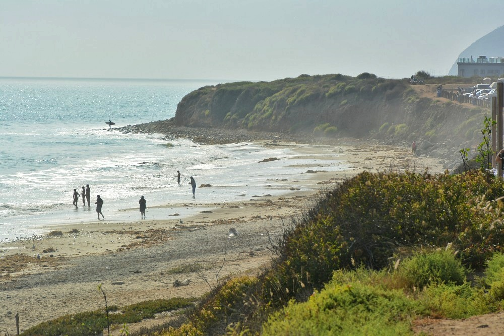 PCH from Los Angeles to Santa Barbara, malibu