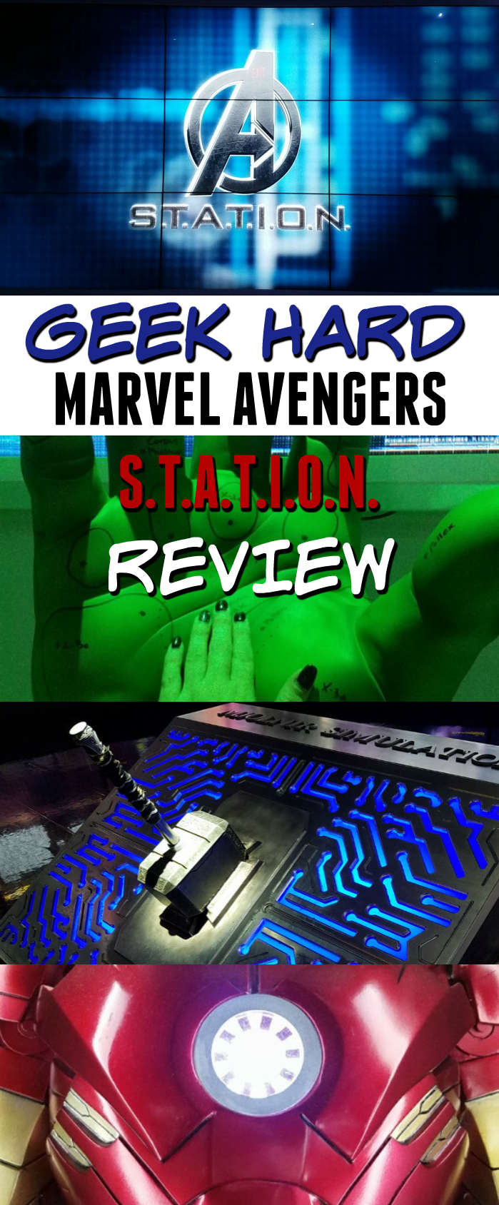 Marvel Avengers Station Review, Things to do in Las Vegas
