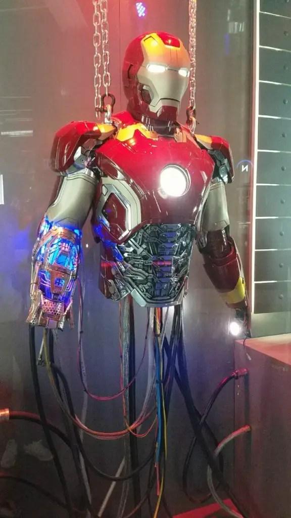 Marvel Avengers STATION Las Vegas review, Iron Man costume