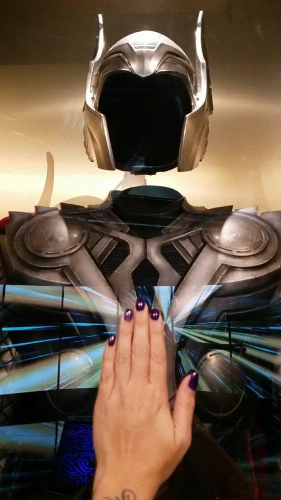 Marvel Avengers STATION Las Vegas review, Thor helmet