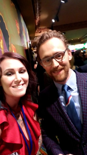 Thor: Ragnarok LA Premiere, Tom Hiddleston, Christa Thompson