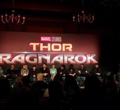 thor: Ragnarok facts, Thor: Ragnarok press conference, LA images