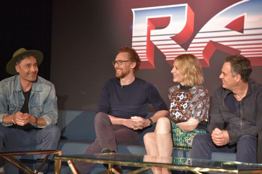 Thor: Ragnarok press conference, LA images