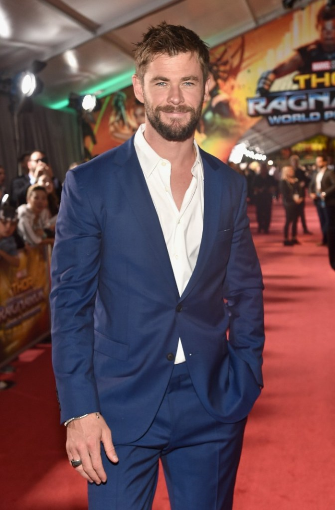 Thor: Ragnarok LA Premiere, Chris Hemsworth