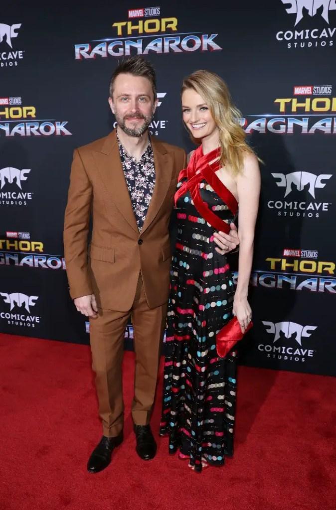 Thor: Ragnarok LA Premiere, Chris Hardwick and Lydia Hearst