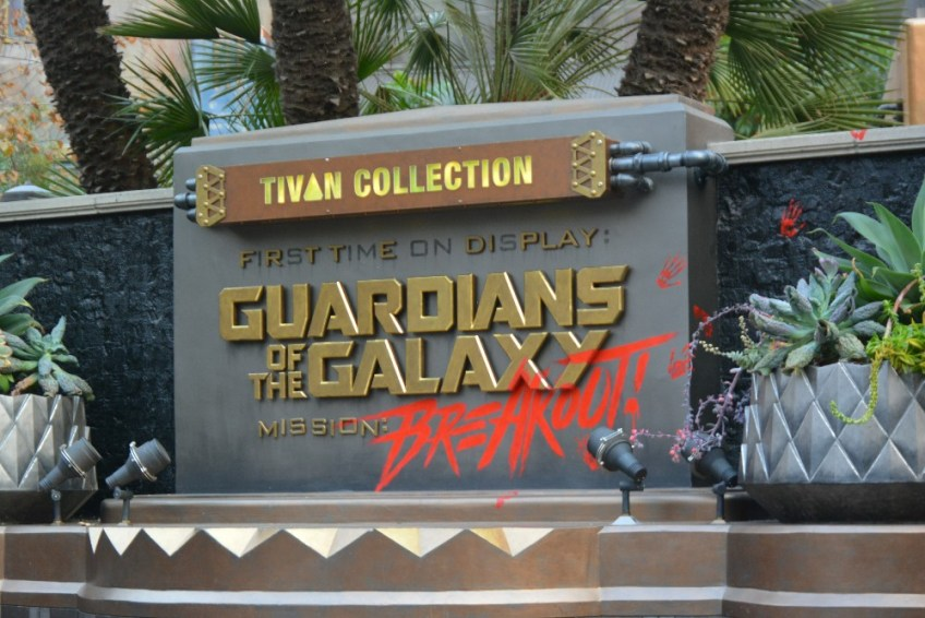 Cars Land Halloween, Guardians of the galaxy Breakout
