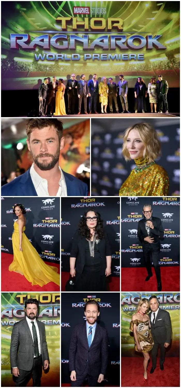 Thor Ragnarok LA Premiere