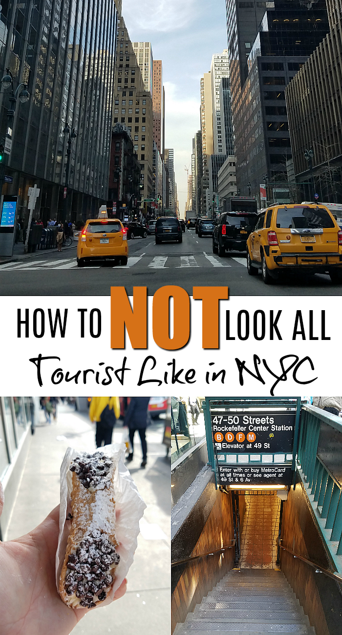 NYC Travel Tips - How to not look like a tourist in the big Apple