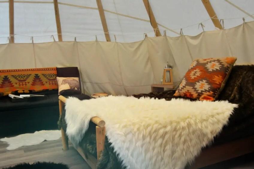 airbnb teepee
