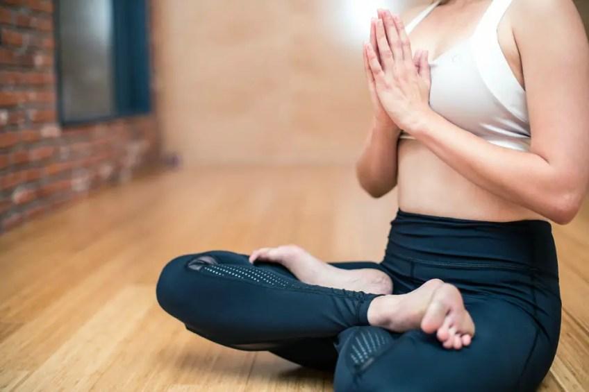 fitness class, yoga