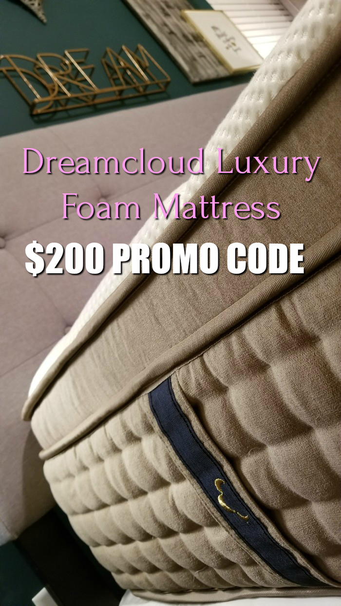 Dreamcloud promo code $200 off and free shipping