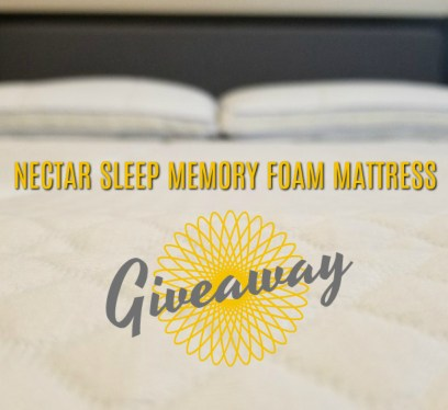 Nectar Mattress Giveaway