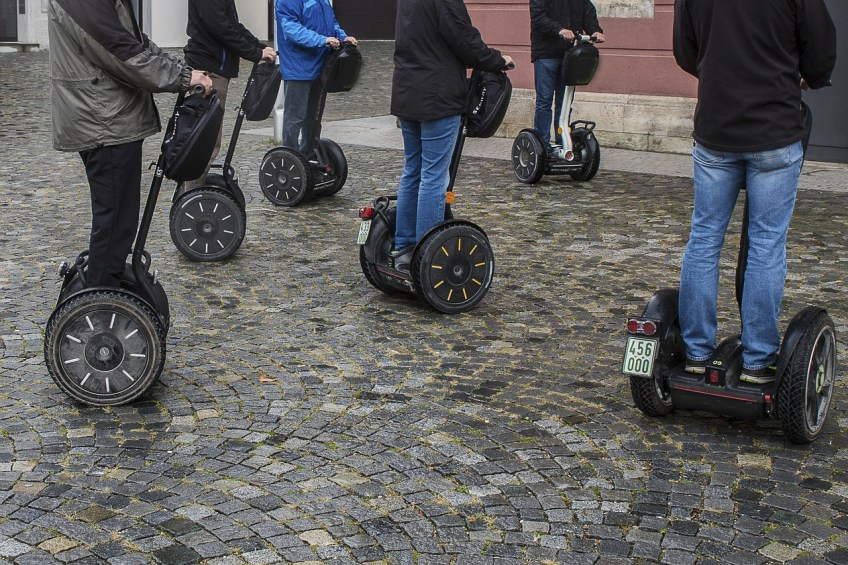 sports for geeks, segway tour, sports for geeks