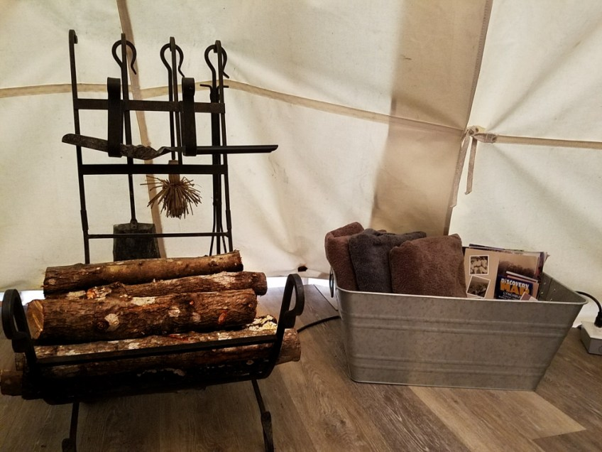Our Luxury Airbnb Teepee Experience Rustic Glamping
