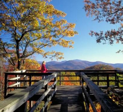 Georgia State Parks - Black Rock Mountain Overlook