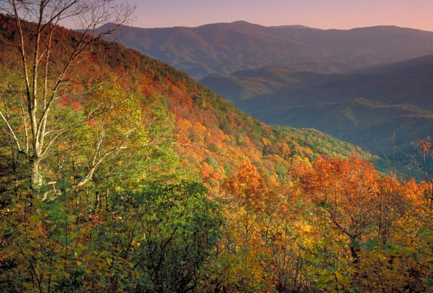 Fall in Georgia State Parks - Fort Mountain