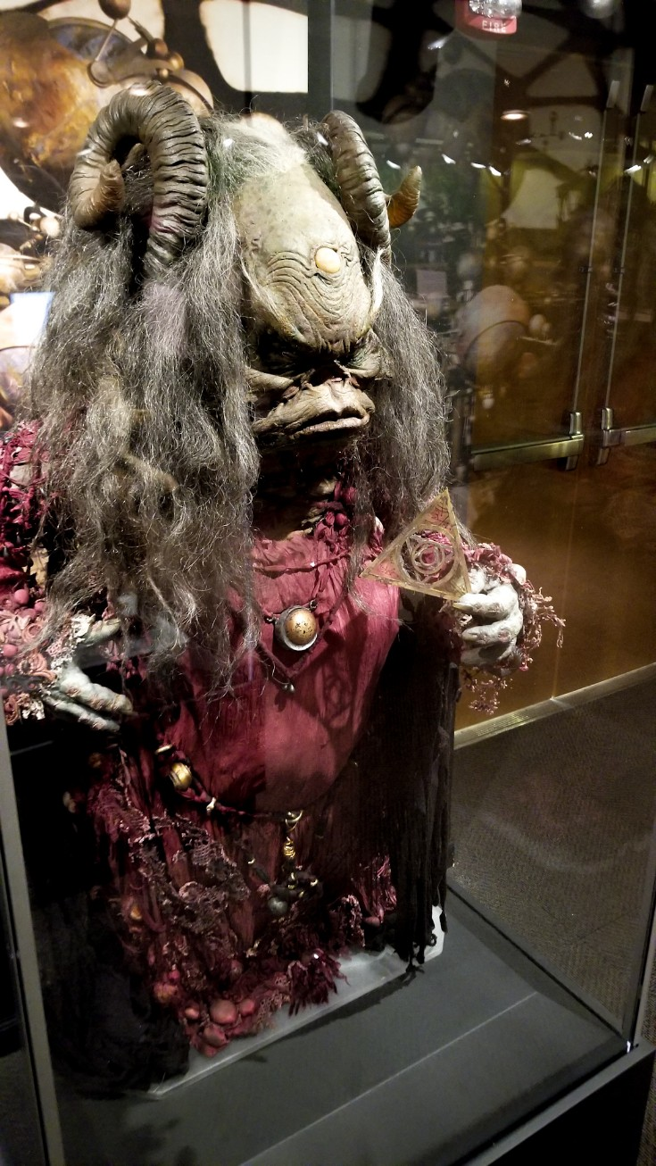 Aughra Puppet at The Dark Crystal World of Myth and Magic