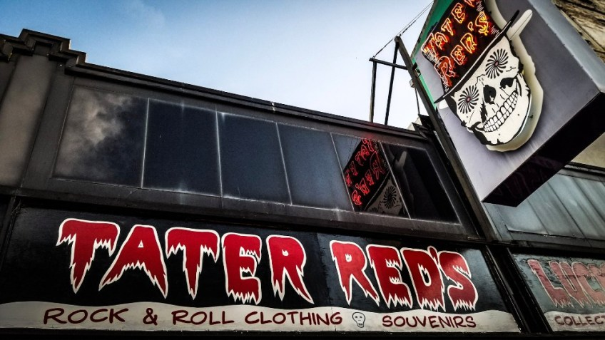 Haunted Places in Memphis, Tater Reds Memphis