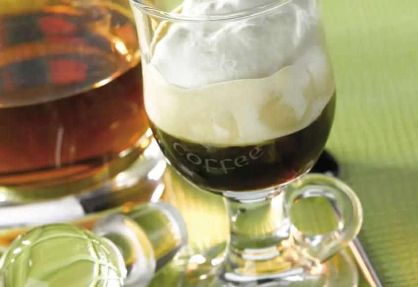 holiday cocktail ideas Irish Coffee