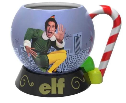 Elf mug, Elf the movie, movie night with the neighbors, christmas get together, best christmas movies