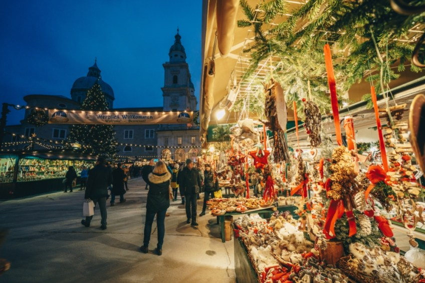 Salzburg Christmas Market Locations