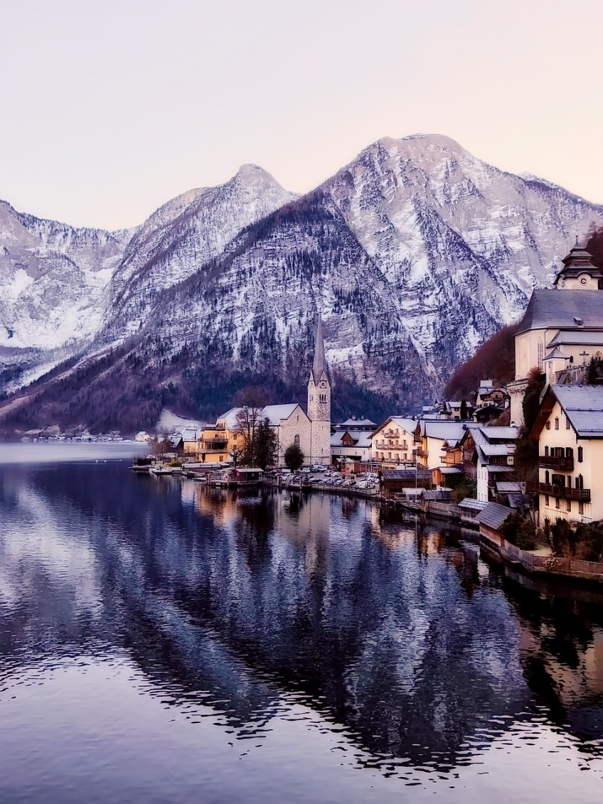 Best places to travel in December, Hallstatt