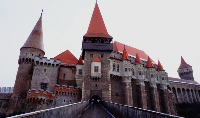myths of romania Corvin Castle