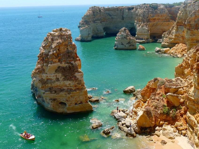algarve, portugal holiday