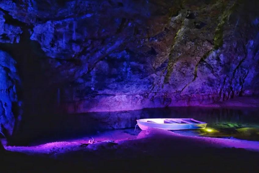 Wookey Hole, Underground caves