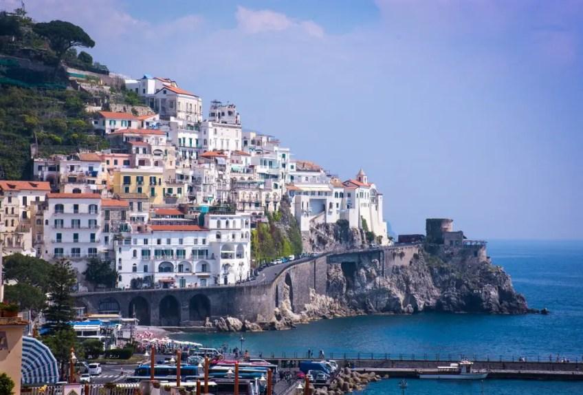 Mediterranean Yacht Destinations, amalfi