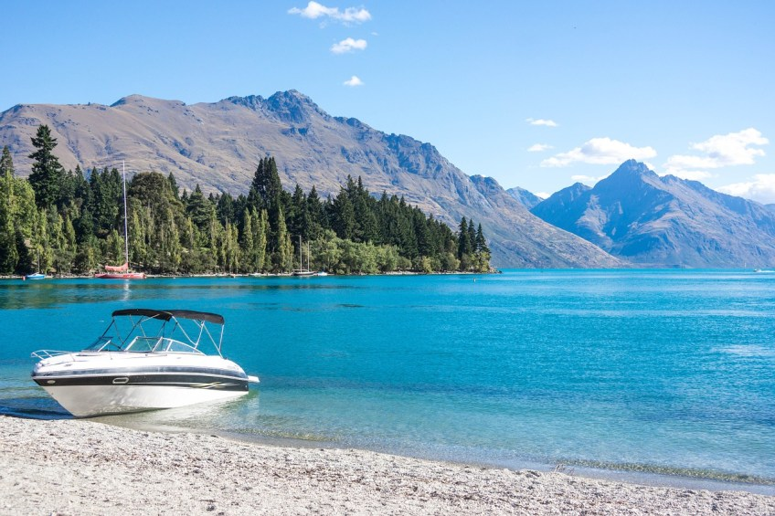 campervan road trip, New Zealand