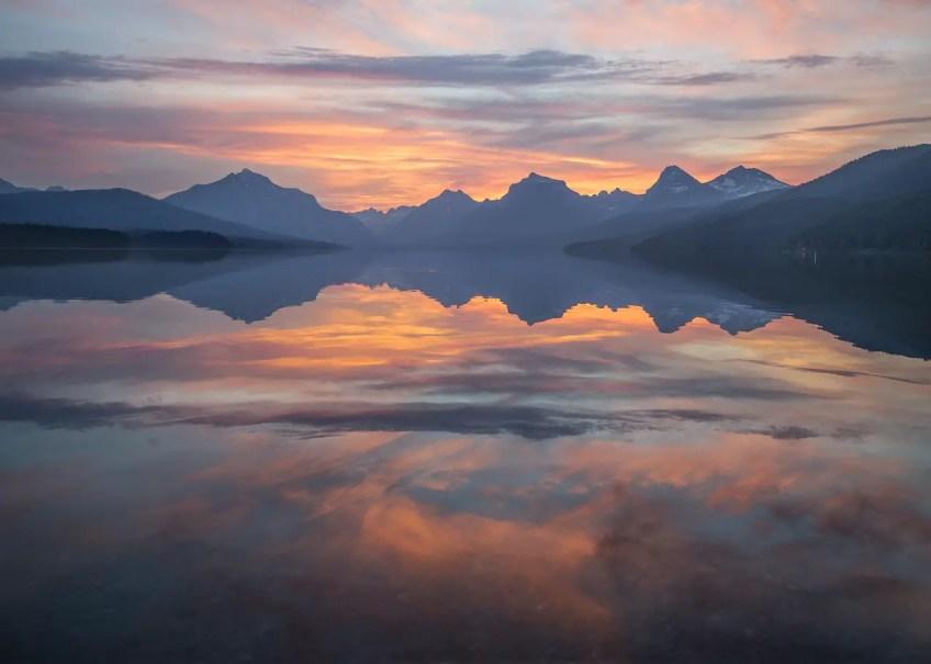 Glacier National Park, fairytale places