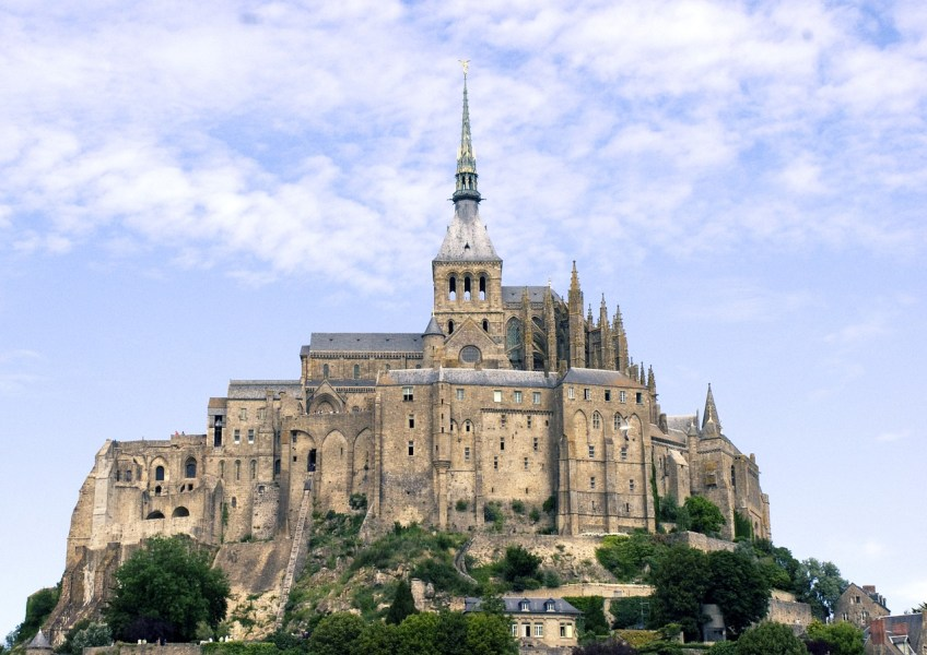 Mont Saint Michel, France, Medieval Towns in Europe