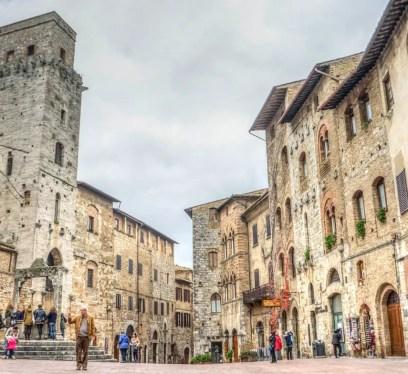 San Gimignano, Italy, Tours in Italy