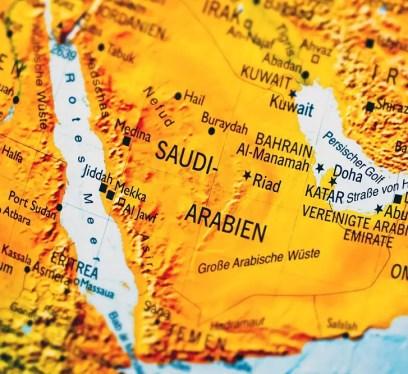 map, Travel to Saudi Arabia