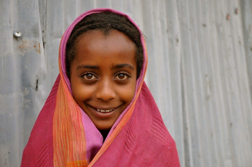 Young African girl