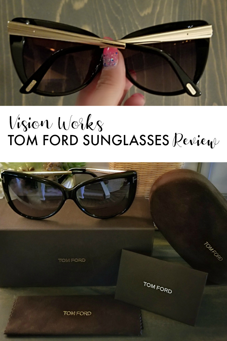Vision Works Tom Ford sunglasses review pin