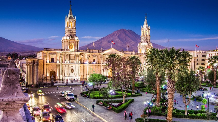 itineraries for South America, visiting Peru
