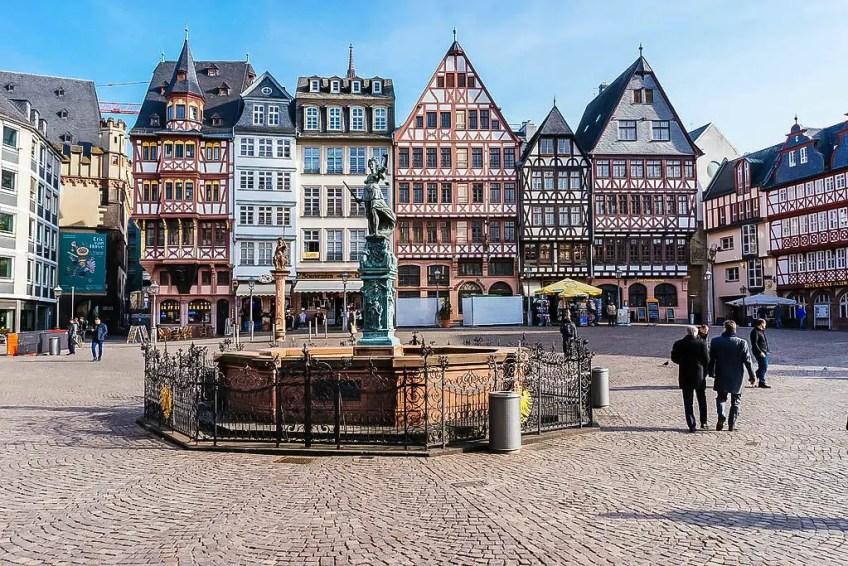 itinerary ideas for Frankfurt