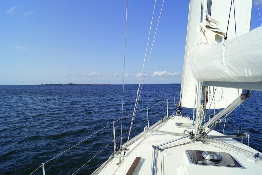socially distanced vacation, sailing on the water, buying my first boat