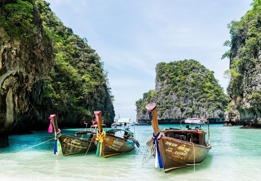 Phuket, Thailand, warm destinations