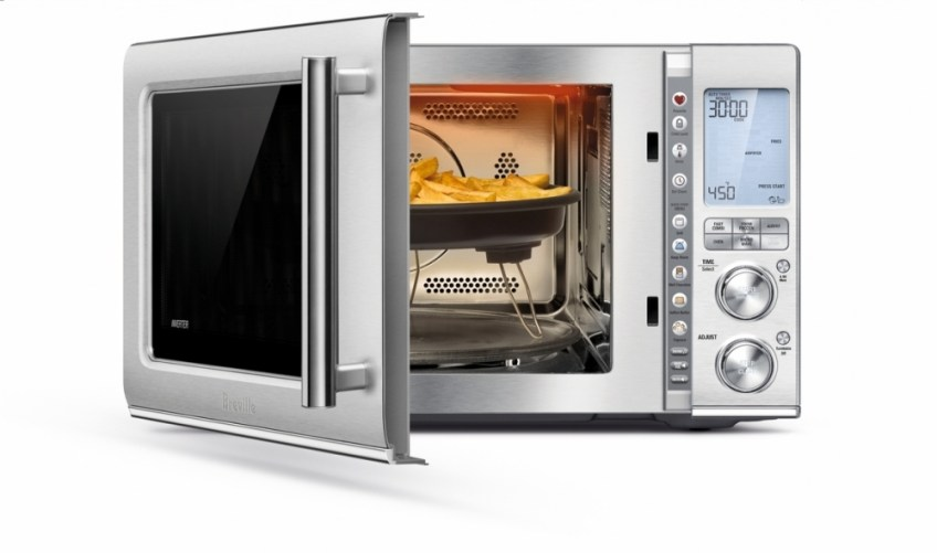 Breville Combi Wave 3-in-1 microwave, microwave that air fries food
