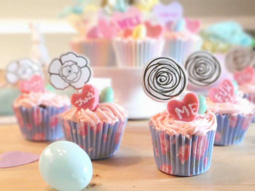 cupcakes, easter